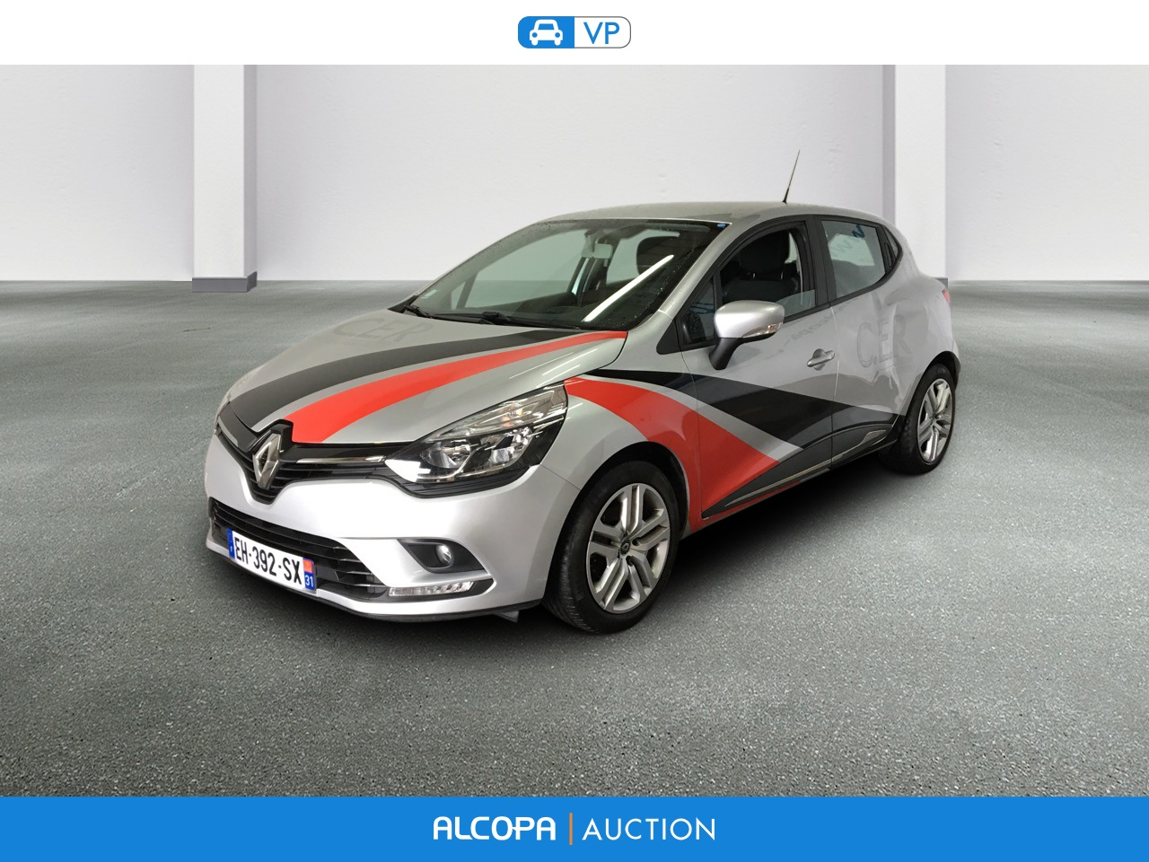 renault clio iv 07 2016 clio dci 75 energy business alcopa auction. Black Bedroom Furniture Sets. Home Design Ideas