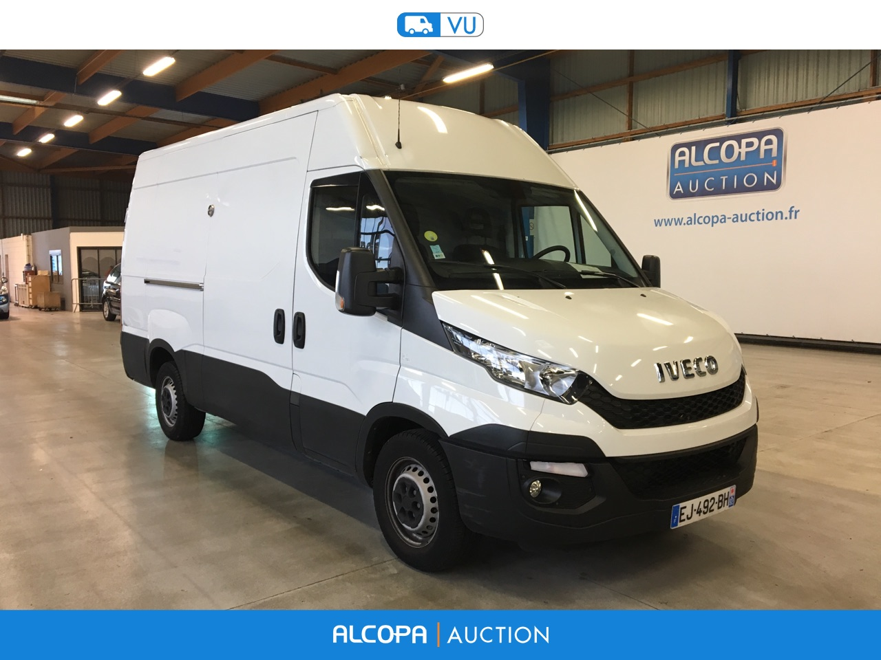 iveco daily daily 35c170 hi matic rennes alcopa auction. Black Bedroom Furniture Sets. Home Design Ideas