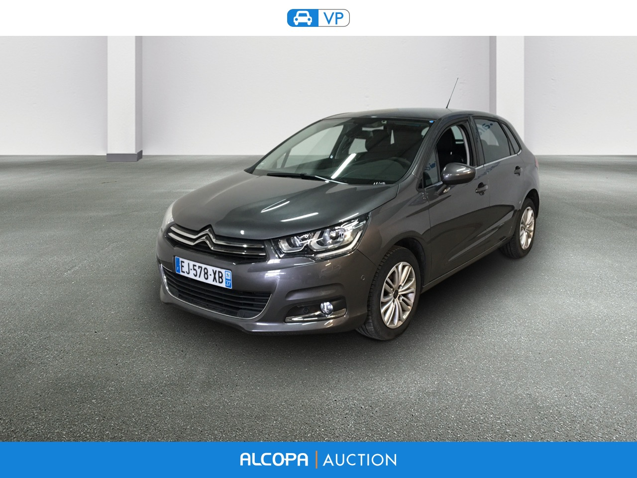 citroen c4 business 01 2015 c4 bluehdi 120 s s eat6 millenium business alcopa auction. Black Bedroom Furniture Sets. Home Design Ideas