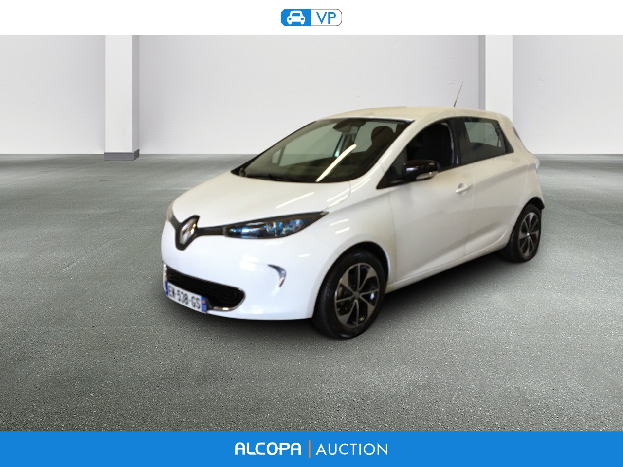 renault zoe 10 2012 zoe intens gamme 2017 alcopa auction. Black Bedroom Furniture Sets. Home Design Ideas