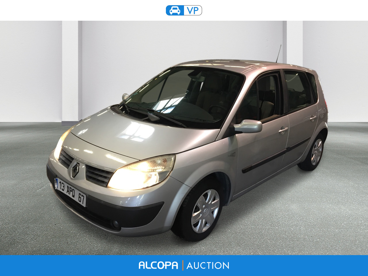 renault scenic scenic 1 5 dci105 confort expression alcopa auction. Black Bedroom Furniture Sets. Home Design Ideas