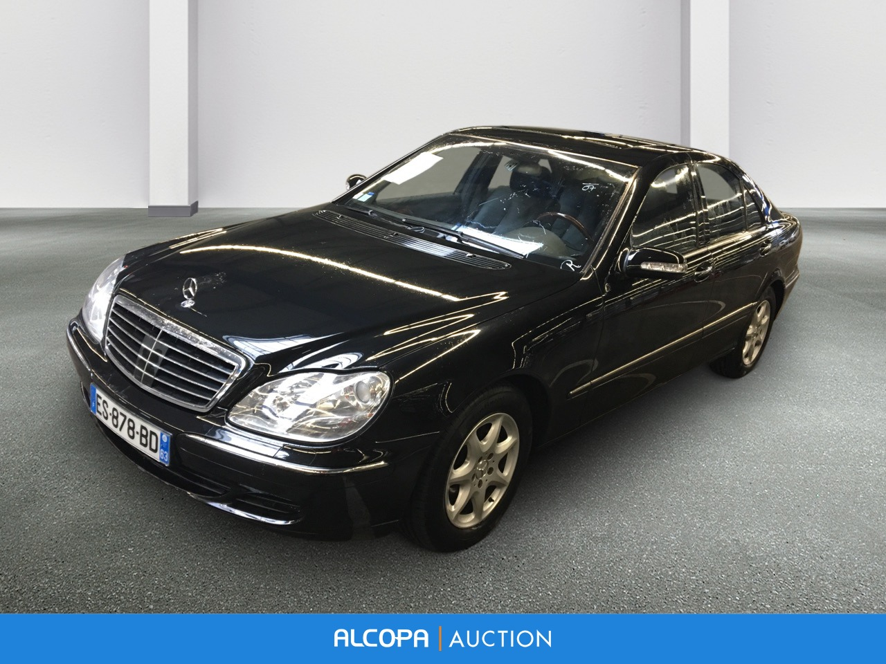 mercedes benz classe s s 500 a alcopa auction. Black Bedroom Furniture Sets. Home Design Ideas