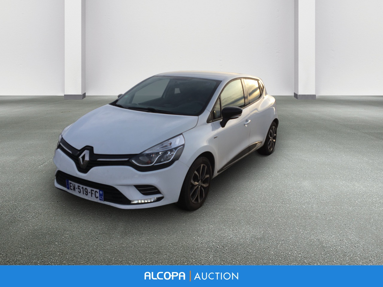 renault clio iv clio dci 75 energy limited alcopa auction. Black Bedroom Furniture Sets. Home Design Ideas