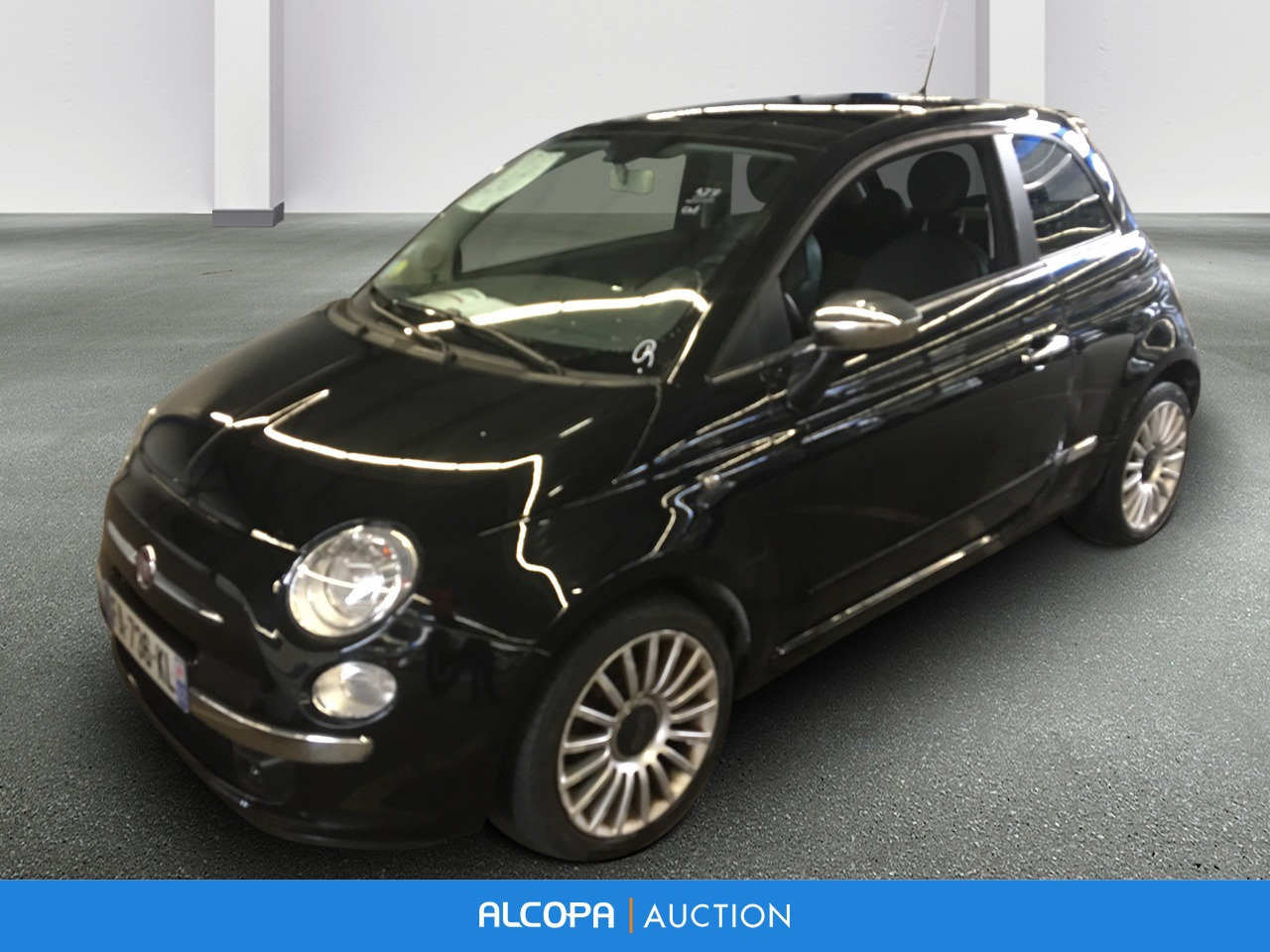 fiat 500 500 1 2 8v 69 ch sport alcopa auction. Black Bedroom Furniture Sets. Home Design Ideas