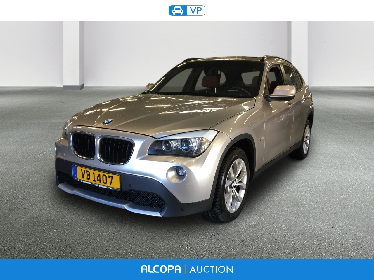 bmw x1 x1 xdrive 20d 177 ch luxe alcopa auction. Black Bedroom Furniture Sets. Home Design Ideas